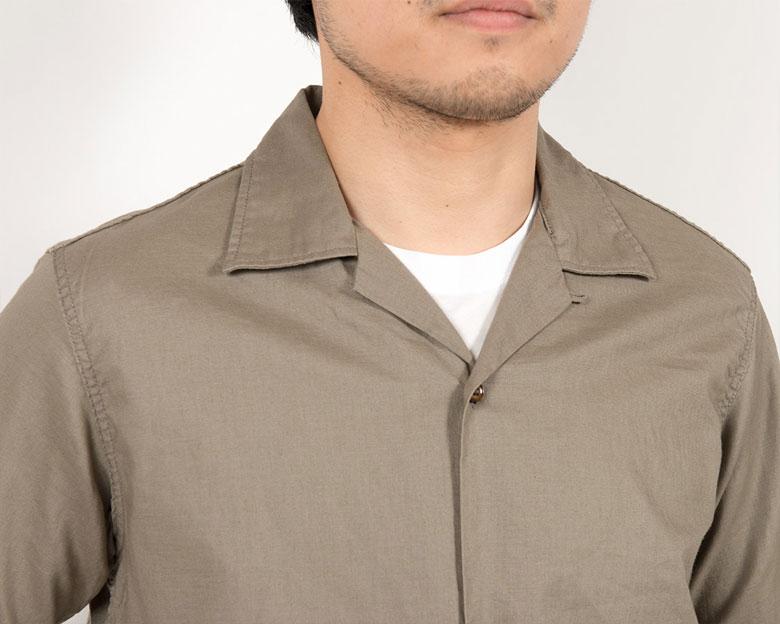 workers Open Collar Shirt