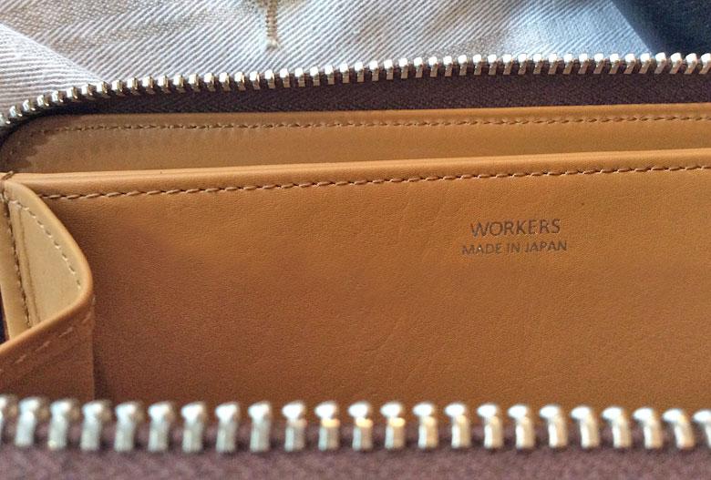 workers長財布