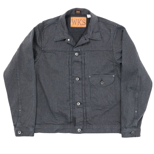 workers Cowboy Jacket 13 oz, Cotton Serget
