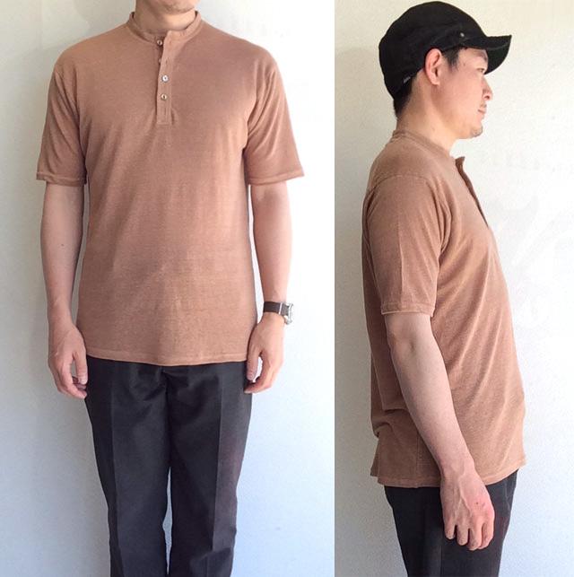 djangoatourヘンリーネックTシャツ