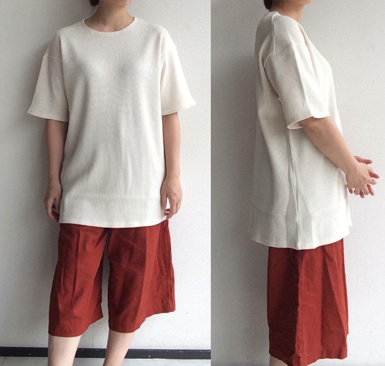 djangoatourワッフル生地Tシャツ