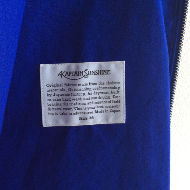 KAPTAIN SUNSHINEビーチジャケット