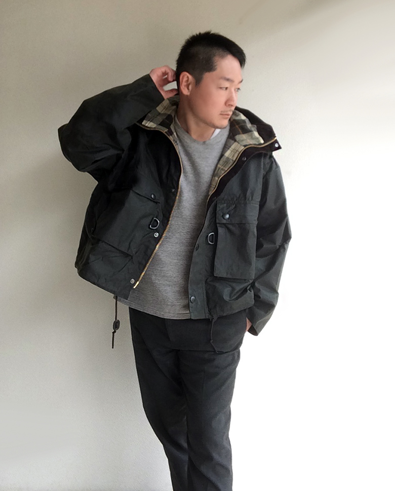 KAPTAIN SUNSHINE Barbour別注FISHING JACKET