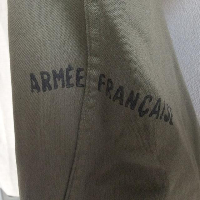 フランス軍ミリタリーコート