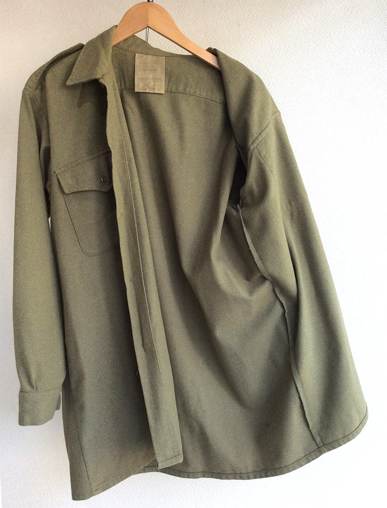 1970's British Royal Army Wool Shirt