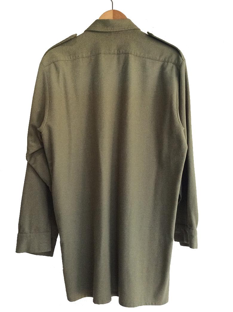 1970's British Royal Army Wool Shirt