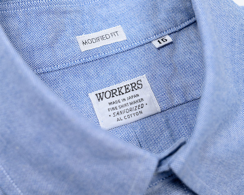 workersシャツ