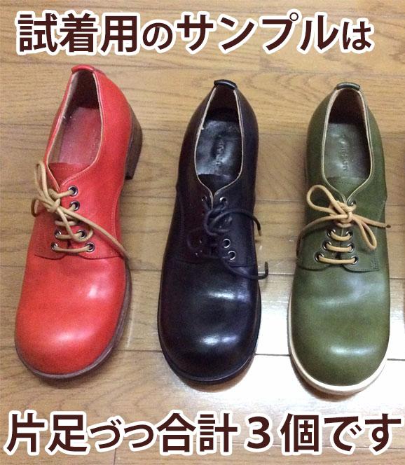靴のサンプル例1