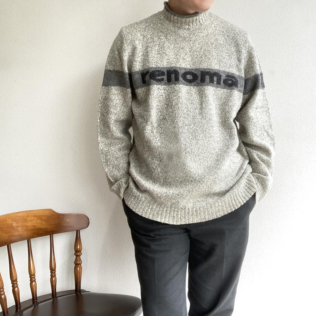 1980年代renomaのニット