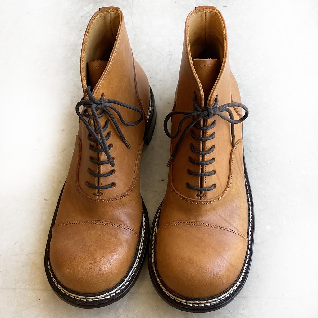 ヒラキヒミおでこ靴フォロー