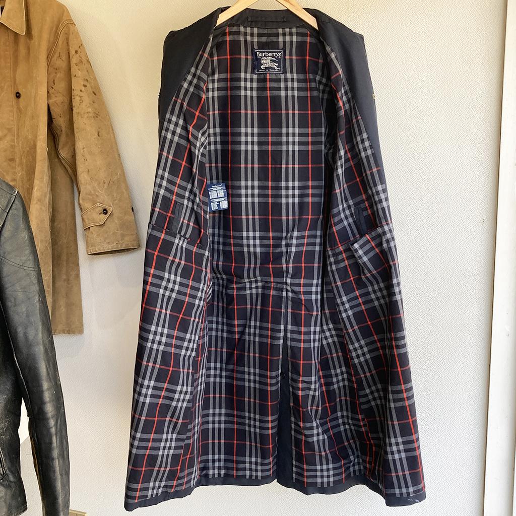 80年代バーバリーのコート