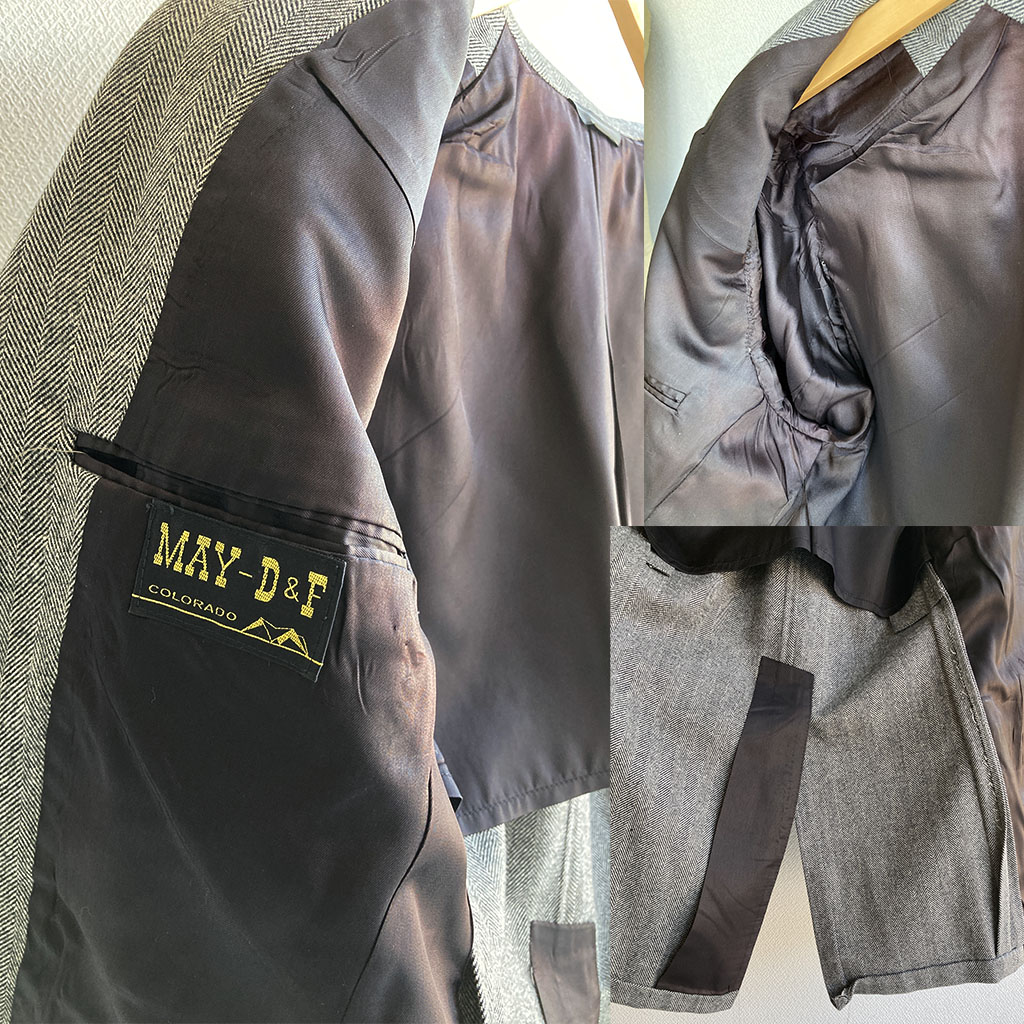 1950-1960's Three-piece suit