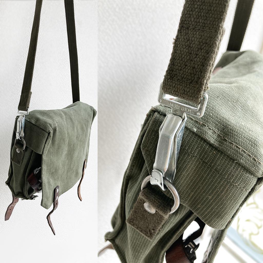 スイス軍ヴィンテージショルダーバッグ