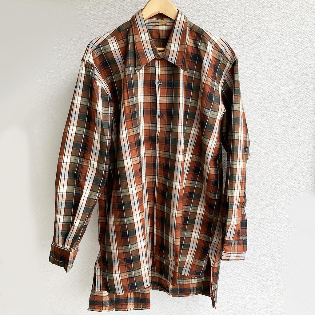 1950年代フランス古着グランパシャツ