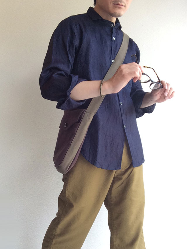 frenchwork heavylinen shoulderbag DjangoAtour