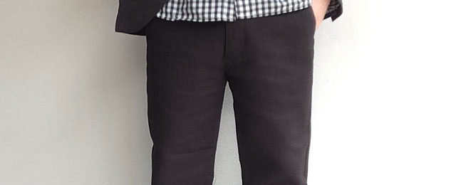 djangoatour Factory Herringbone Pants