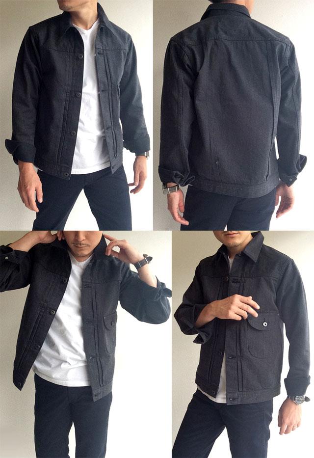 Cowboy Jacket 13 oz, Cotton Serge/Workers